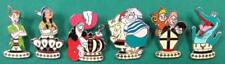 Disney Pin DLR 2009 Hidden Mickey Series Peter Pan Tiger Lily Hook Chess  SET