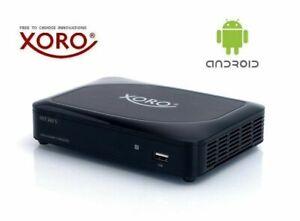 XORO Smart TV Box HST SAT 260, DVB-S2 Receiver 4K, Android 6 Neu