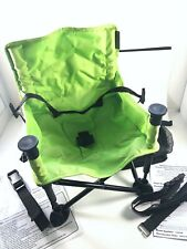 Summer Infant 13404B Pop N' Sit Portable Booster - Green Slightly Used