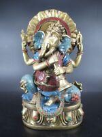 Ganesha Hinduismus Indien Souvenir,30 cm Polyresin Elefant Figur,Neu