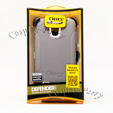 Otterbox Defender For Samsung Galaxy S4 Active Hard Snap Case Glacier Gray White