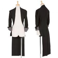 (SALE) yohji yamamoto FEMME  Linen asymmetry jacket Size 2(K-25433)