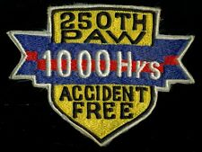 PAF Philippine Air Force 250th PAW 1000 Hours Patch J-2