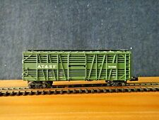 N Scale Atlas AT&FS Double Deck Stock Car RR# 50656