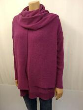 HAWICO SCOTLAND 3tlg.Twinset Pullover Strickjacke Schal Gr.42 Cashmere Pink