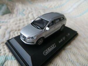 1:87 HO Audi Q7 Welly Gris Métalisé
