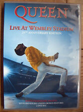 Queen  Live At Wembley Stadium  25th Anniversary DVD plus Booklet