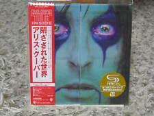 ALICE COOPER FROM THE INSIDE RARE OOP JAPAN MINI-LP SHM-CD