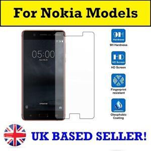 100% Genuine Tempered Glass Screen Protector Nokia 1.3 5.3 2.3 7.2 8 1 Plus 6.1