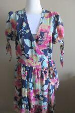 Alannah Hill wrap silk dress,size AUS 12, mint condition