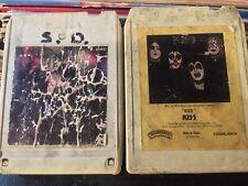 Kiss 1st Self Titled +Alive 2x8 TRACK LOT rare