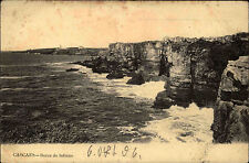 Cascaes Cascais Portugal AK 1906 Bocca do Inferno Küste Coast gelaufen frankiert