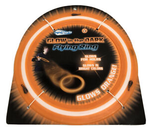 Oglo Sports - Glow in the Dark Flying Disc Ring | Glows Orange BRAND NEW