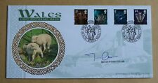 WALES PICTORIAL DEFINITIVES 1999 BENHAM FDC SIGNED BY POLITICIAN MICHAEL GERMAN