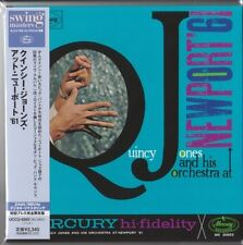 Quincy Jones and His Orchestra at Newport '61 JAPAN MINI LP CD Curtis Fuller