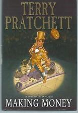 Making Money Terry Pratchett Doubleday 2007 Hardback 3rd Printing Good Condition