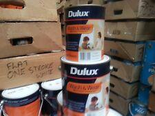 DULUX PER  LITRE WASH/WEAR LOW/SHEEN  INTERIOR FACTORY VIVID-WHITE colour paint