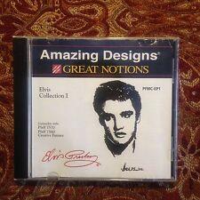 Elvis Musik Stickerei Designs Card für Pfaff Creative 7560 7570 2140 2170
