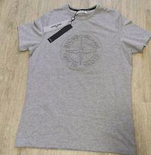 Stone Island Herren T-Shirt hell grau XL