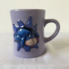 Large 3D Disney Store Eeyore Mug with Eeyore Protruding Through Mug