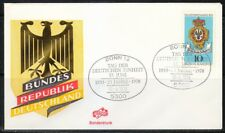 Germany 1978 cover SST Sonderstempel Bonn German Unity Day.25 jahre 1953-1978