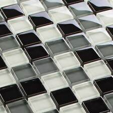 mosaïque céramique carrelage cristal gris mélange 8 mm