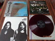 """PINK FLOYD """"MEDDLE"""" - JAPAN LP + OBI -  OP-80375  - 1971 - RED WAX"""