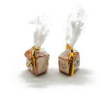 1:12 Dollhouse Miniature 2 Sets Bagged Toast Simulation Bread Food Accessory