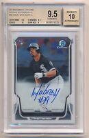 2014 Bowman Chrome JOSE ABREU Rookie RC Autograph On-Card Auto BGS 9.5/10