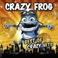 "CRAZY FROG ""BEST OF CRAZY HITS"" 2 CD+DVD NEW+"