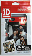 1D One Direction soft iPhone cover for 4 & 4S + Charm BRAND New!