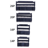 10Pcs FC IDC Socket 10Pin Dual Row Pitch 2.54mm Connector Cable Socket wr