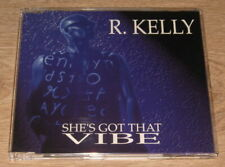 R.Kelly - She's Got The Vibe (4 Track CD Single 1994). Ex Cond