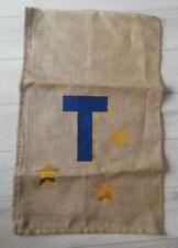 CATERINE COLEBROOK CHRISTMAS STOCKING SACK Large letter T Glitter new no tag