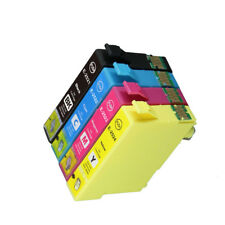 12x for Epson 252XL 252 252XLCMY ink WF-3620 3640 7610 7620 printer