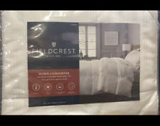 Fieldcrest Down Comforter - Midweight Queen Color White (Free Ship)
