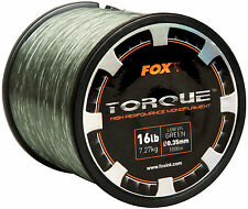 Fox Torque Line 0.35mm 16lb Green - Cml147