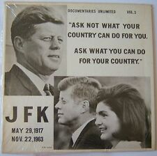 JFK: The Man .. A Profile of Courage LP Record Album
