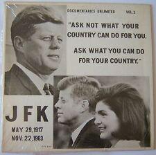JFK: The Man .. A Profile of Courage LP Record Album