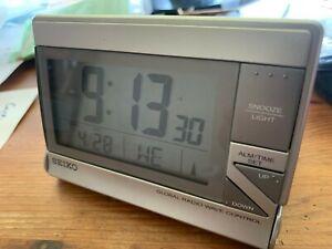 [Seiko] Alarm Clock world travel GLOBAL RADIO CONTROLLED QHR024s