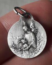 Medaille Religieuse religious medal a identifié marie jesus enfant art nouveau