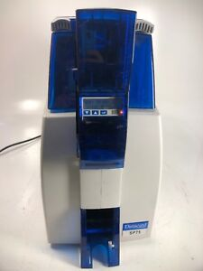 Datacard SP75  Dual Side ID Card Lamination Printer Power Tested / As Is!