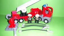 Lego Duplo 4861 Feuerwehrlöschzug-Drehleiter,Set Komplett