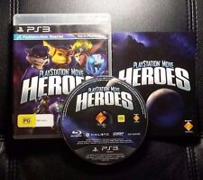 PlayStation Move Heroes (Sony PlayStation 3, 2011) PS3 - FREE POST