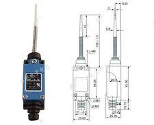 FINECORSA MICRO INTERRUTTORE ME-8166 1NC 1NO Limit Switch AC 250V 5A CON MOLLA