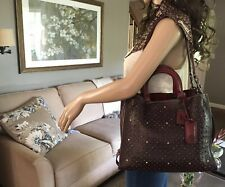NEW COACH ROGUE 1941 PRAIRE RIVETS LEATHER BAG SATCHEL CROSSBODY  54553 $995