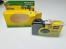 VINTAGE  Lot of 2 One-Time-Use Digital Disposable Camera Fred's Isis Magic