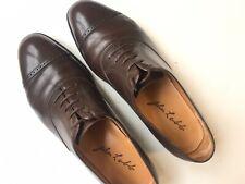 JOHN LOBB Paris 'Bespoke' Brown Cap Toe  Leather Oxford US 9.5/10, $6000*