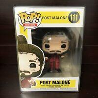 """Funko Pop Rocks : Post Malone #111 Vinyl Figure """"MINT""""  (IN STOCK) w/case"""