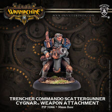Warmachine: Cygnar Trencher Commando Scattergunner PIP 31066 NEW